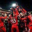 Für Östersunds FK gab es am Donnerstag reichlich zu feiern.