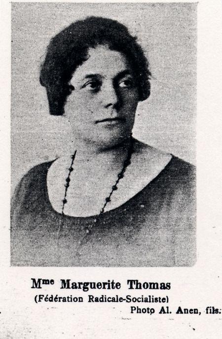 Marguerite Thomas-Clement wurde 1919 Luxemburgs erste Parlaments-Abgeordnete.Sie ist eine Pionierin der luxemburgischen Geschichte.