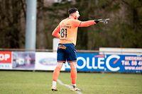 Youn Czekanowicz (Strassen 81) / Fussball, Nationaldivision, Niederkorn - Strassen / 14.03.2021 / Niederkorn / Foto: Christian Kemp