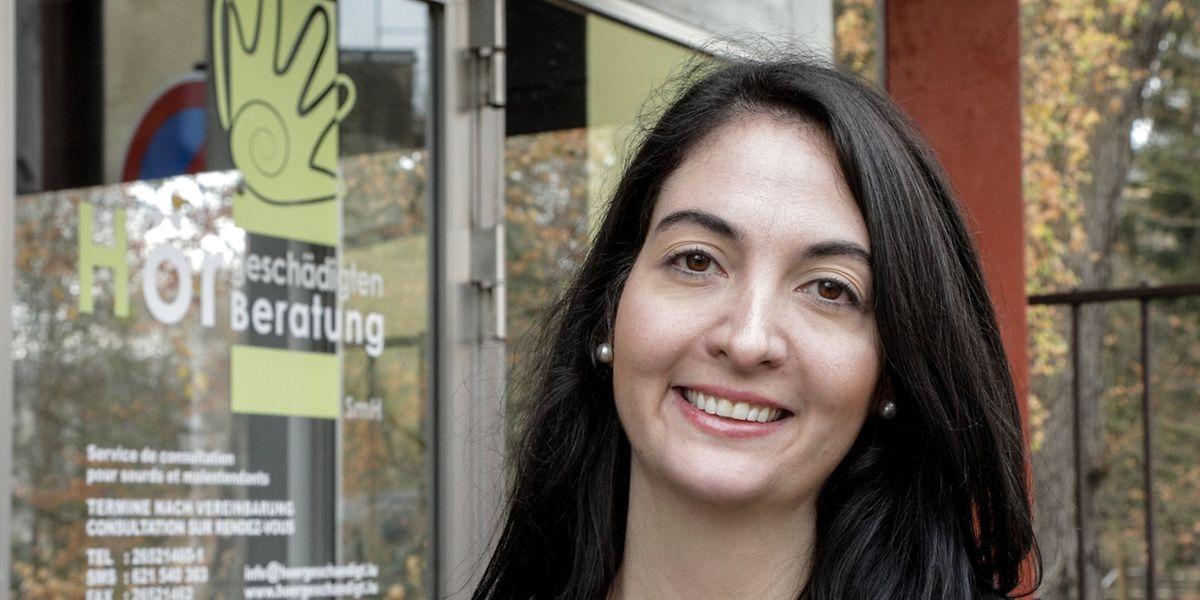 Von September bis Dezember hat Amira-Louise Ouardalitou Hörgeschädigten die luxemburgische Sprache beigebracht.