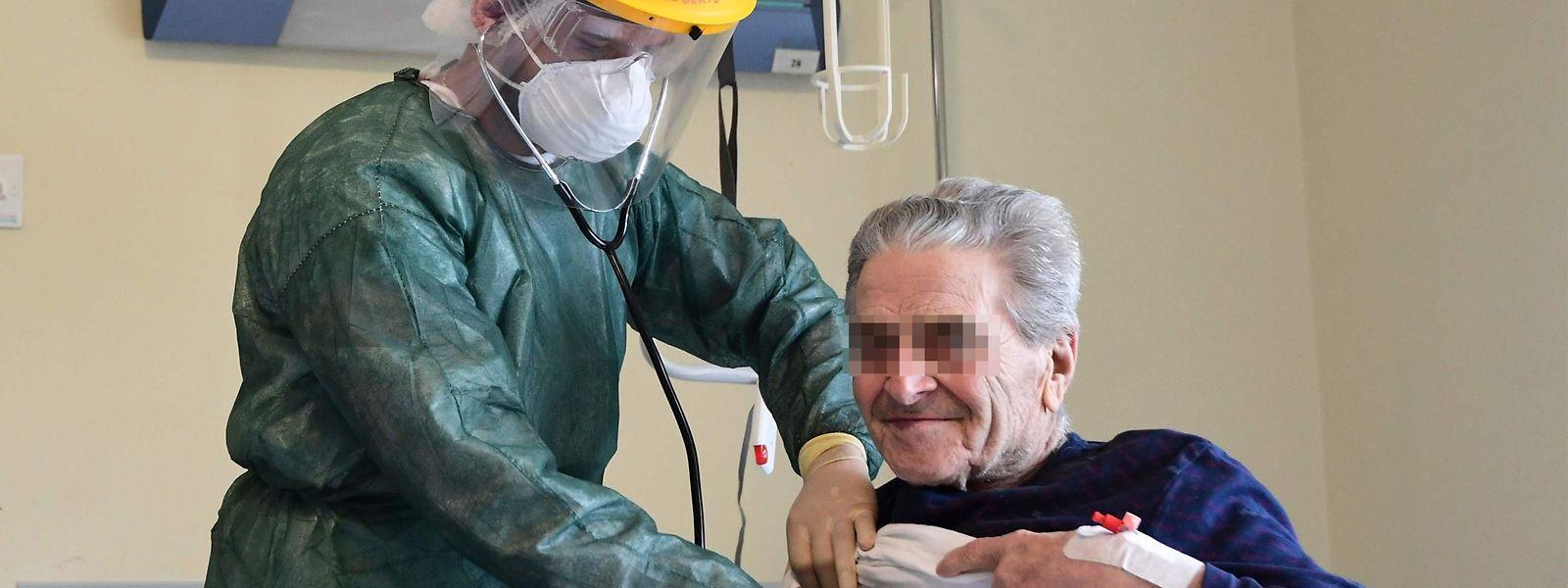 51 malades atteints du covid-19 restent hospitalisés en soins normaux au Luxembourg.
