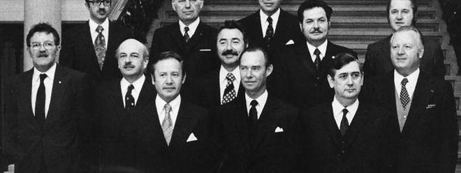 Am 16. Juni 1974 wurde die sozialliberale Koalition vereidigt.