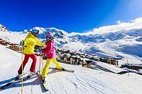 Wintersport, Schnee, Berge, Skifahren