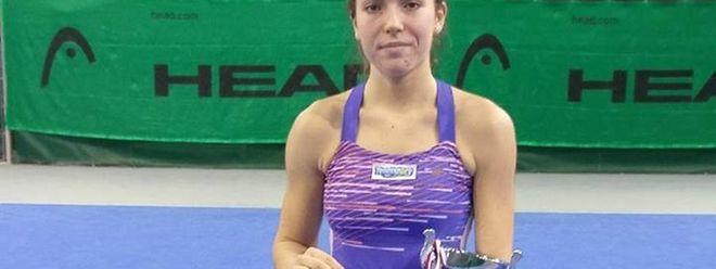 Eléonora Molinaro s'est inclinée en trois sets face à la Russe Timofeeva.