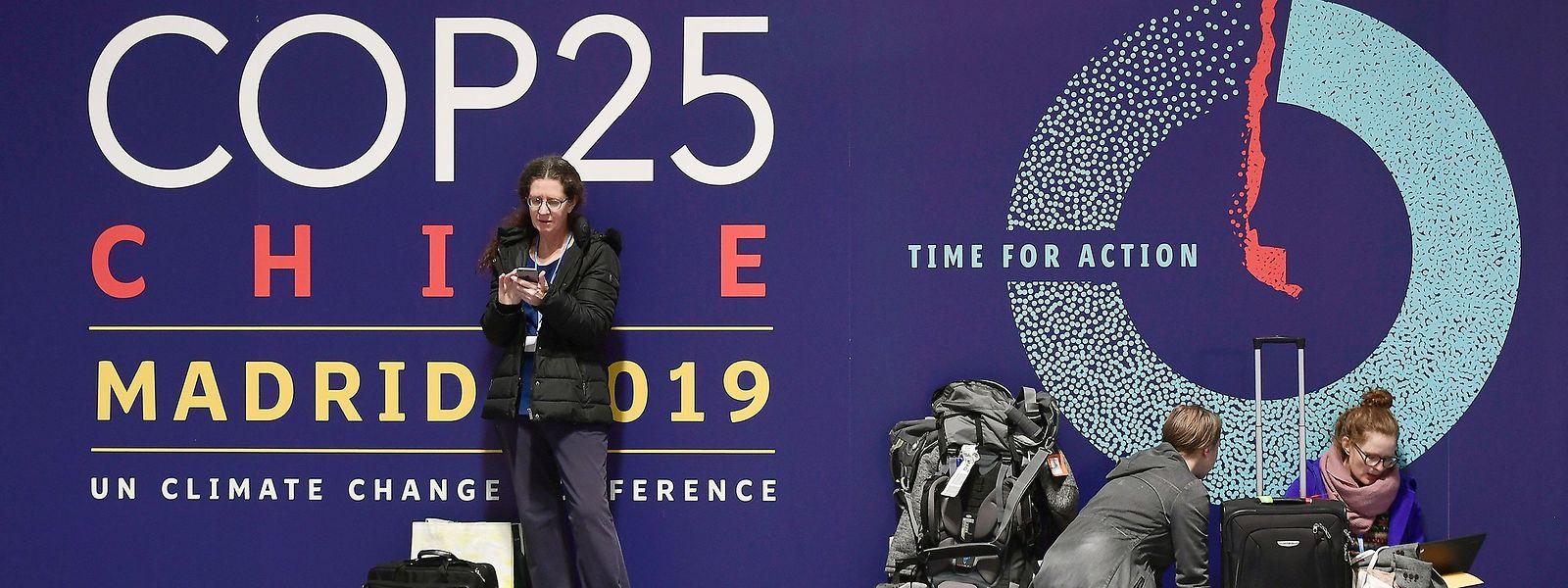 Die Klimakonferenz wurde kurzfristig von Chile nach Spanien verlegt.