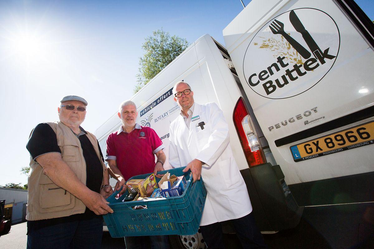 Der luxemburgische Handel arbeitet bereits mit Hilfsorganisationen zusammen, wie hier bei Cactus in Niederkerschen.