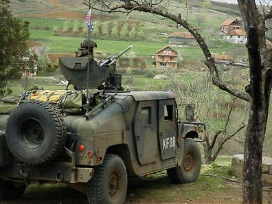 KFOR on mission in Kosovo