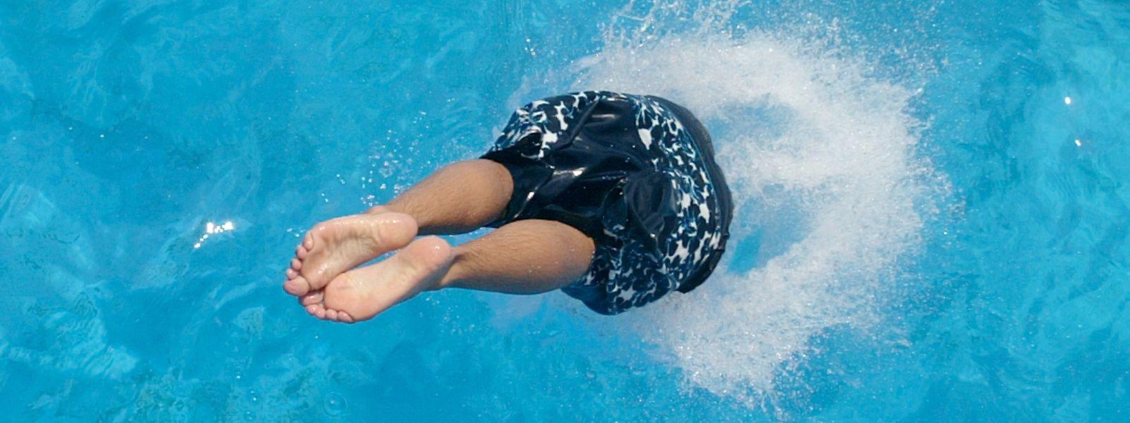 Trotz der laufenden Sommersaison kann das offene Schwimmbad in Vianden derzeit keinen Badespaß bieten.