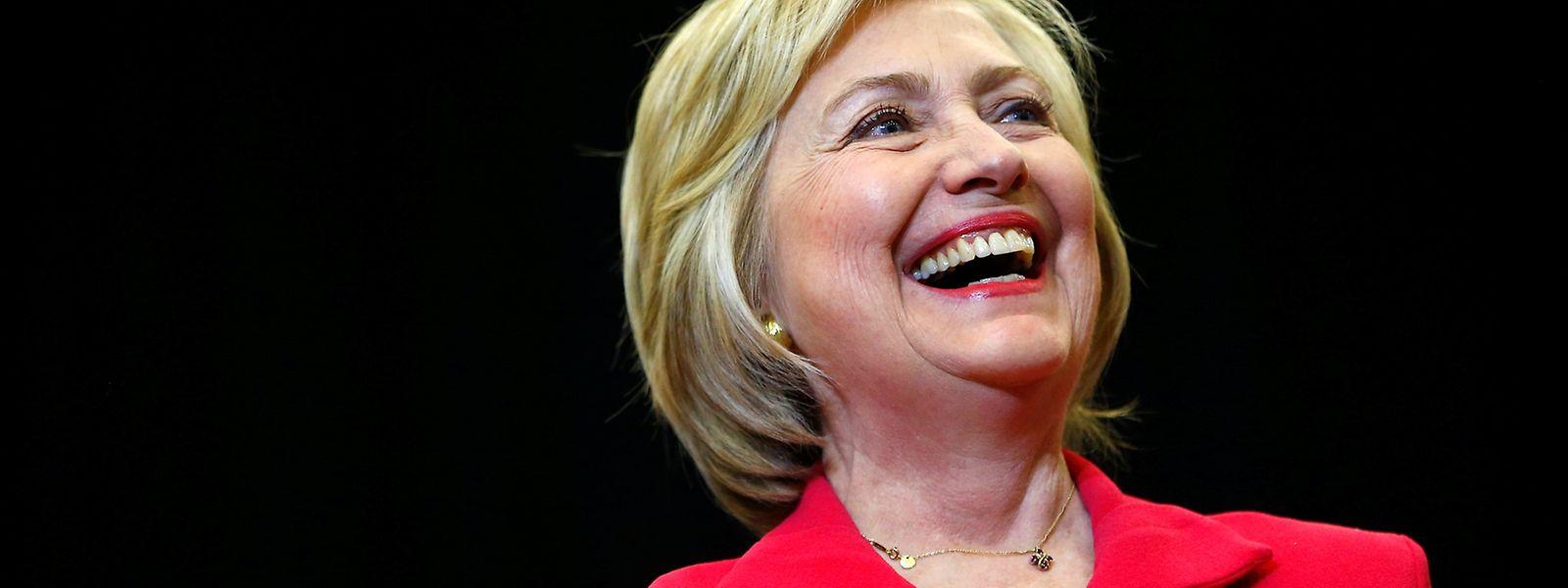 Siegerlächeln: Hillary Clinton gewinnt die Vorwahlen in Kentucky.