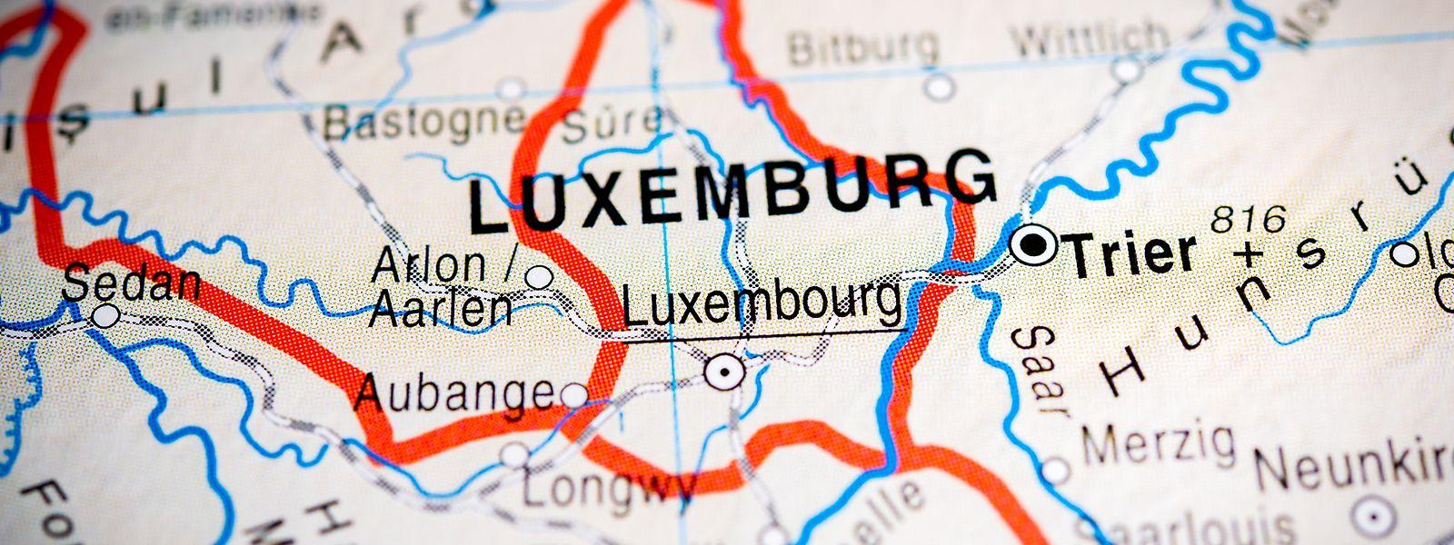 Luxemburgs Landkarte wurde im Laufe der Zeit immer wieder neu gezeichnet.