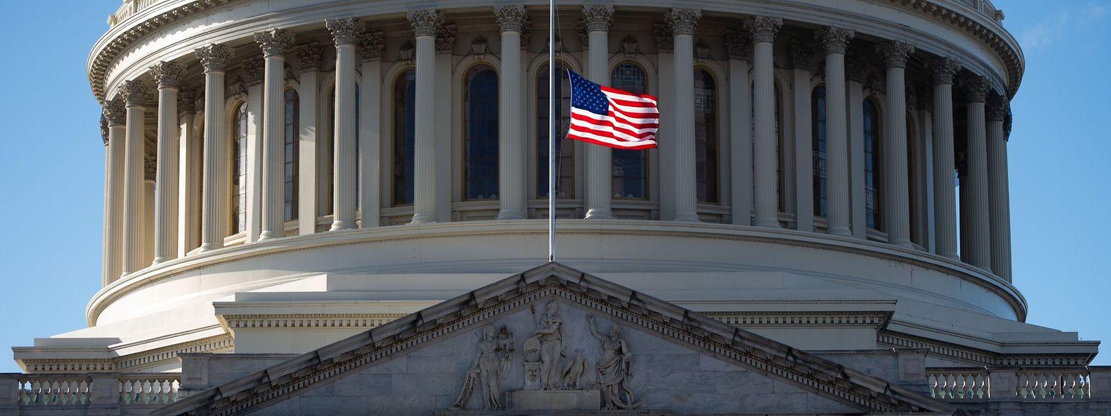 Das Kapitol in Washington D.C., der Sitz der Legislative der Vereinigten Staaten von Amerika.