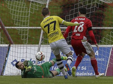Fola Goal keeper Thomas Hym's actions played a deciding role in Saturday's match