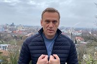 "This grab taken from a video posted on January 13, 2021 on the Instagram account of @navalny shows Russian opposition leader Alexei Navalny recording an address in Germany. - Kremlin critic Alexei Navalny, who is currently in Germany recovering from a poisoning attack, said on January 13 he intends to return to Russia on January 17. (Photo by Handout / Instagram account @navalny / AFP) / RESTRICTED TO EDITORIAL USE - MANDATORY CREDIT ""AFP PHOTO / Instagram account @navalny / handout "" - NO MARKETING - NO ADVERTISING CAMPAIGNS - DISTRIBUTED AS A SERVICE TO CLIENTS"