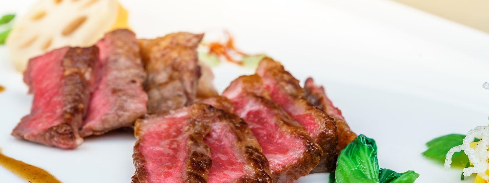Das berühmte Fleisch der Kaiser und Kenner zum Dessert?