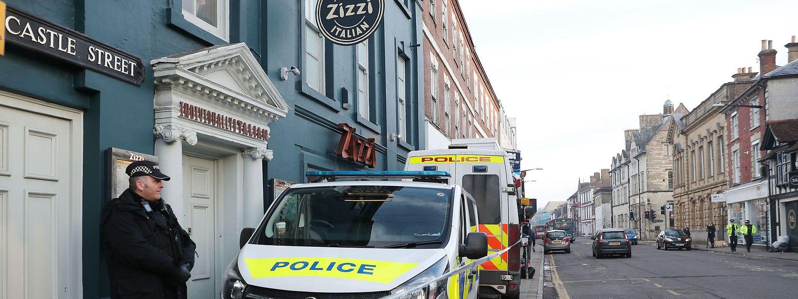 In diesem  Restaurant wird im Zusammenhang mit der mutmaßlichen Vergiftung des Doppelagenten Skripal ermittelt.