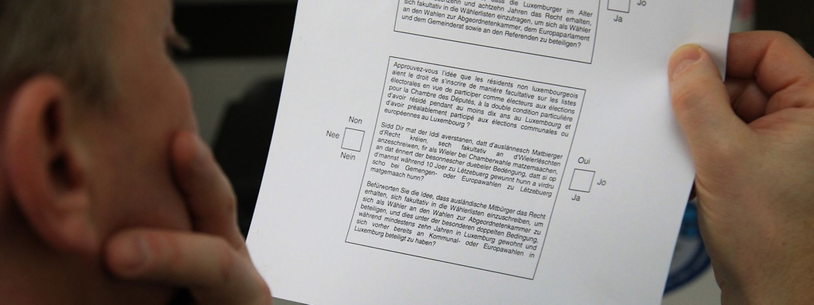 Ein Antragsteller fordert, dass das angedachte Verfassungsreferendum stattfindet.