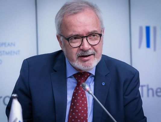 President Werner Hoyer, 70 this year, in a photo in 2019