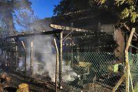 Der Angeklagte hatte unter anderem die Jagdhütte von Fränk und Andy Schleck in Brand gesetzt.