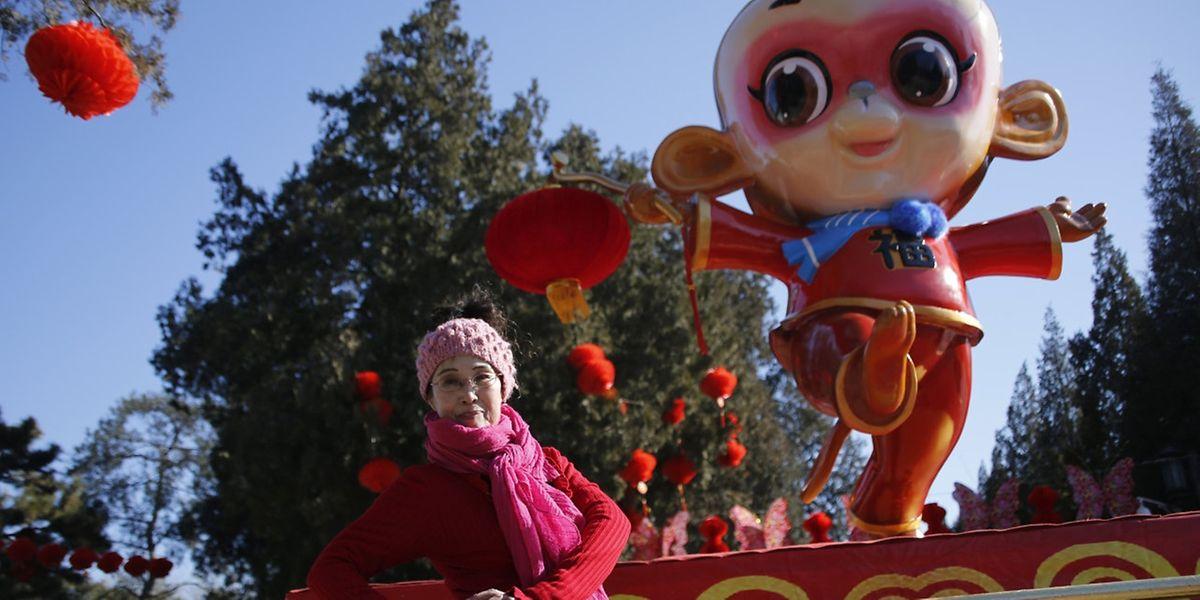 Lebhafte Monate in Aussicht: Chinesen begrüßen das Jahr des Affen