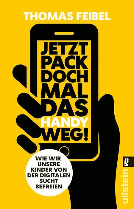 Thomas Feibel: Jetzt pack doch mal das Handy weg! Wie wir unsere Kinder von der digitalen Sucht befreien. Ullstein. 272 S. Euro 9,99, ISBN 9783548377193.