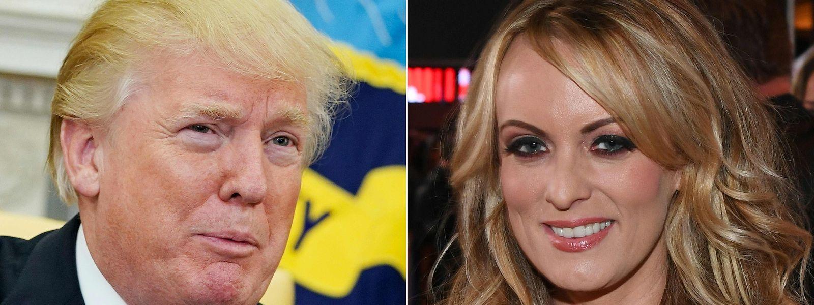 Clifford, die unter dem Namen Stormy Daniels auftritt, behauptet, 2006 eine Affäre mit Trump gehabt zu haben.