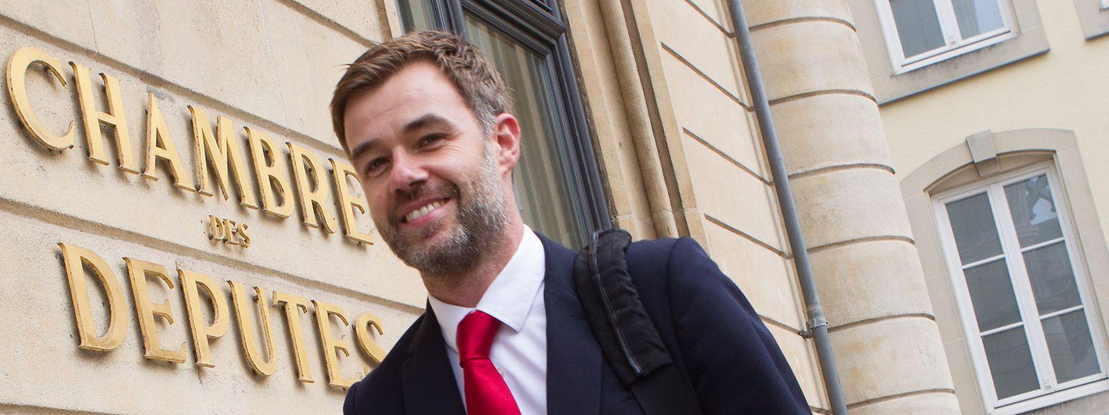 Le père de la réforme constitutionnelle, Paul-Henri Meyers verrait bien le député socialiste Franz Fayot (notre photo) reprendre le flambeau d'Alex Bodry à la tête de la Commission parlementaire.