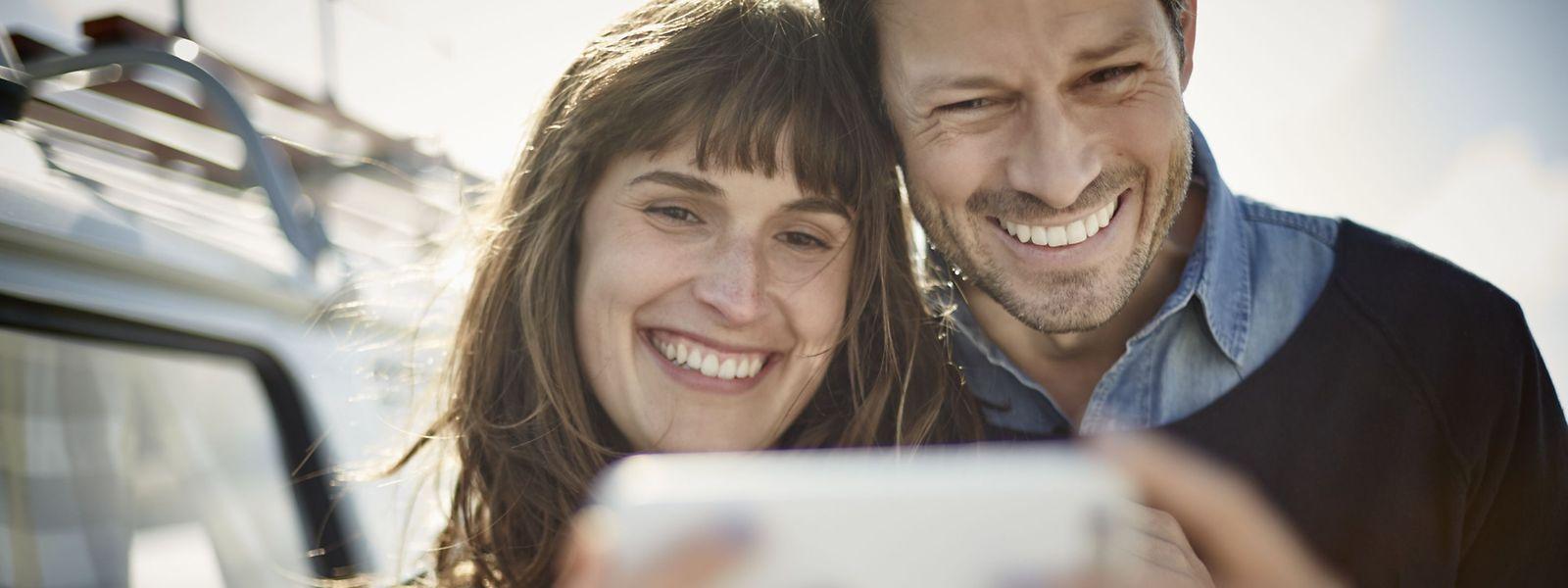 Glücklich zu zweit: Um sich diesen Traum zu erfüllen, nutzen auch Singles in Luxemburg die Dienste von Partnervermittlungen.