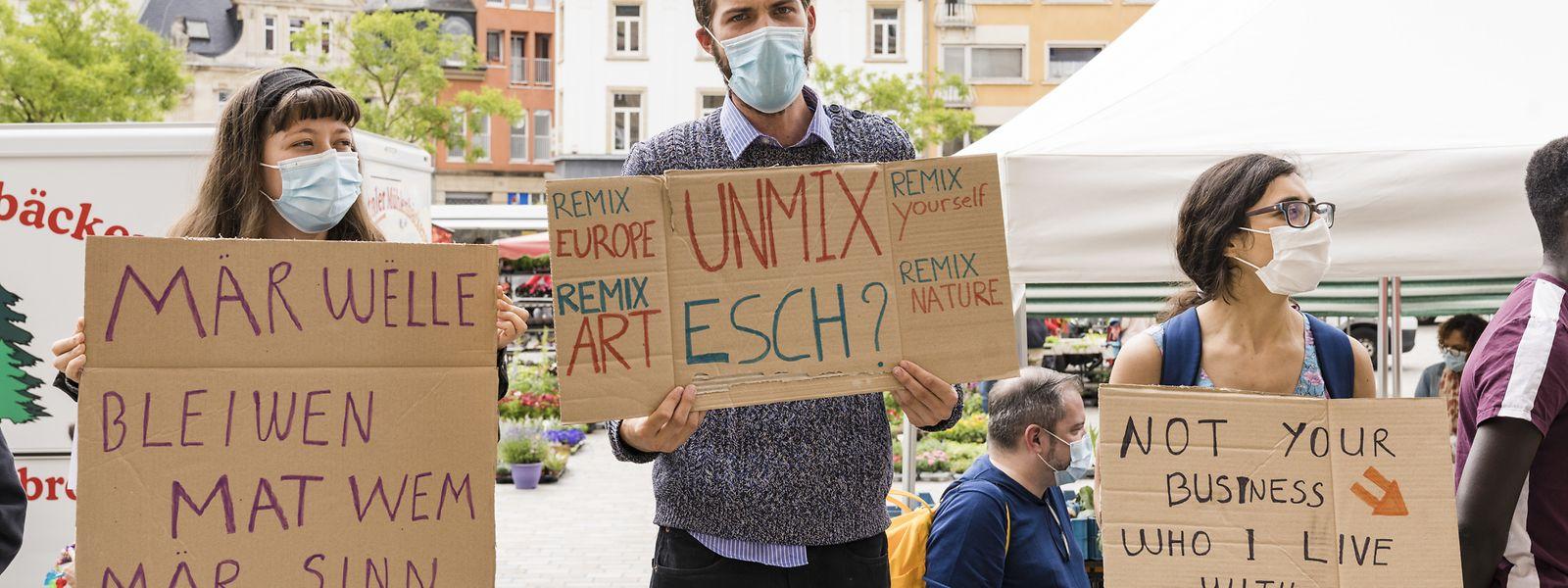 Am Dienstag hatte Einwohner und Eigentümer von WGs im Escher Zentrum demonstriert.
