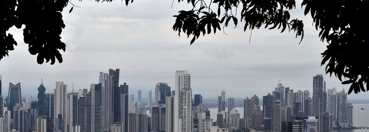 FILE - General view of the Panama City taken on November 2, 2015. Close aides of Russian president Vladimir Putin are among those whose assets feature in a vast expose of tax havens published on April 3, 2016 after a year-long investigation into 11.5 million leaked documents. The assets of around 140 political figures -- including 12 current of former heads of states -- are mentioned in the revelations, according to the probe by the International Consortium of Investigative Journalists (ICIJ) and German daily Sueddeutsche Zeitung. AFP PHOTO / Rodrigo ARANGUA
