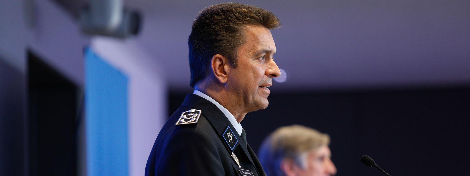 Pour Philippe Schrantz, directeur général de la police, le nombre de plaintes contre les agents n'est pas si élevé au vu des 8.000 contrôles effectués depuis le début du confinement