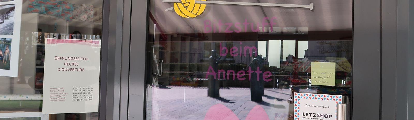 Das Geschäft Bitzstuff beim Annette wird vorübergehend keine Miete an die  Gemeinde zahlen müssen.
