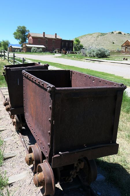 Vergangenheit als Goldgräberstimmung: Rund um Bannack, Montanas erste Hauptstadt, wurde früher nach dem edlen Metall gesucht.