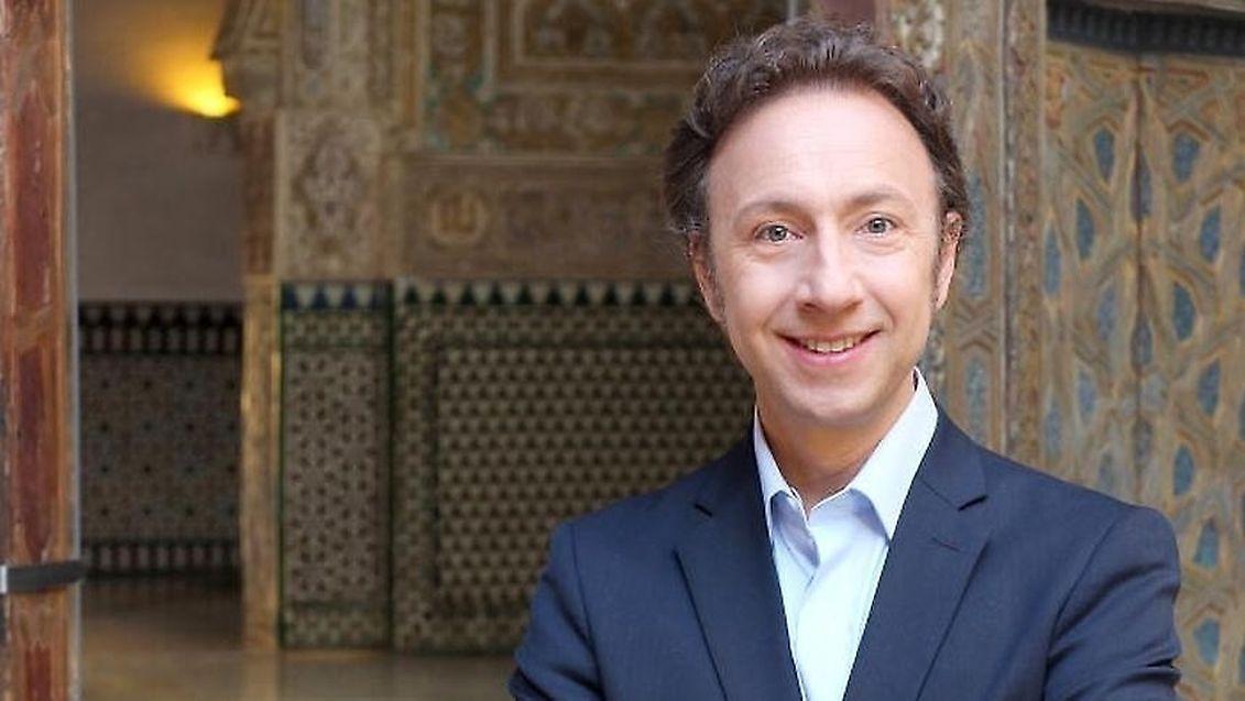 Stéphane Bern, chroniqueur pour le Luxemburger Wort, chaque week-end