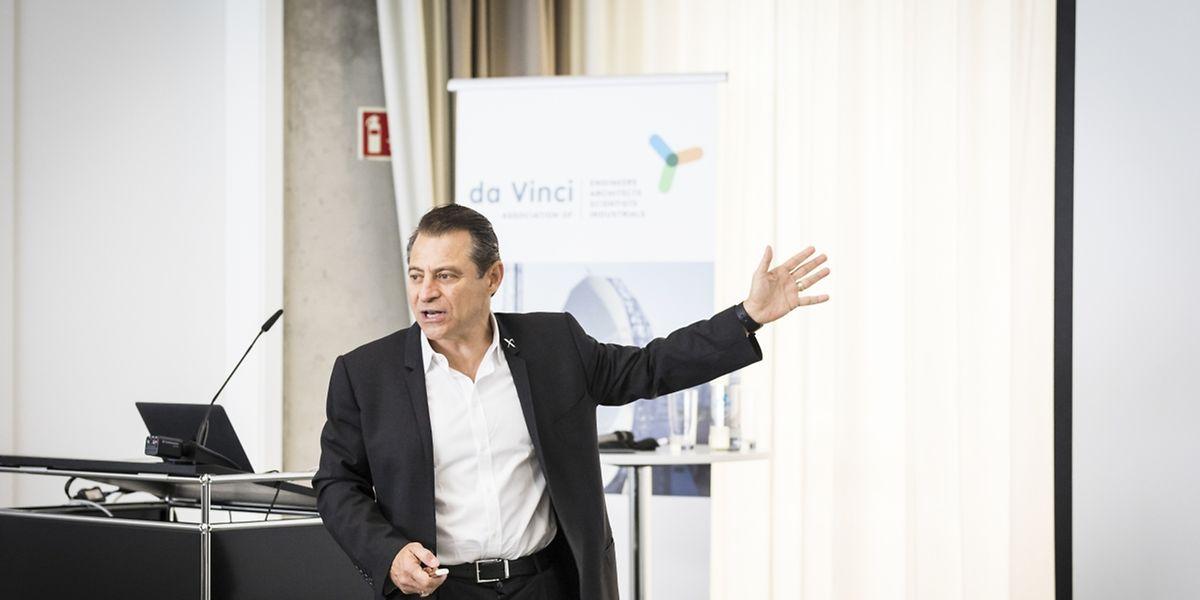 Peter Diamandis est venu dérouler le business plan de Planetary Resources