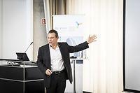 Entretien avec Peter Diamandis, fondateur d'Xprize, photo : Caroline Martin