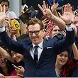 Benedict Cumberbatch wurde auf dem roten Teppich von Toronto gefeiert.