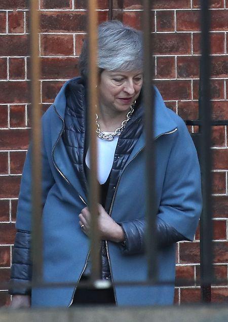 Nächste Schlappe für Theresa May: Das Unterhaus in London stimmte gegen eine Regierungsvorlage zum weiteren Vorgehen bei den Brexit-Verhandlungen.