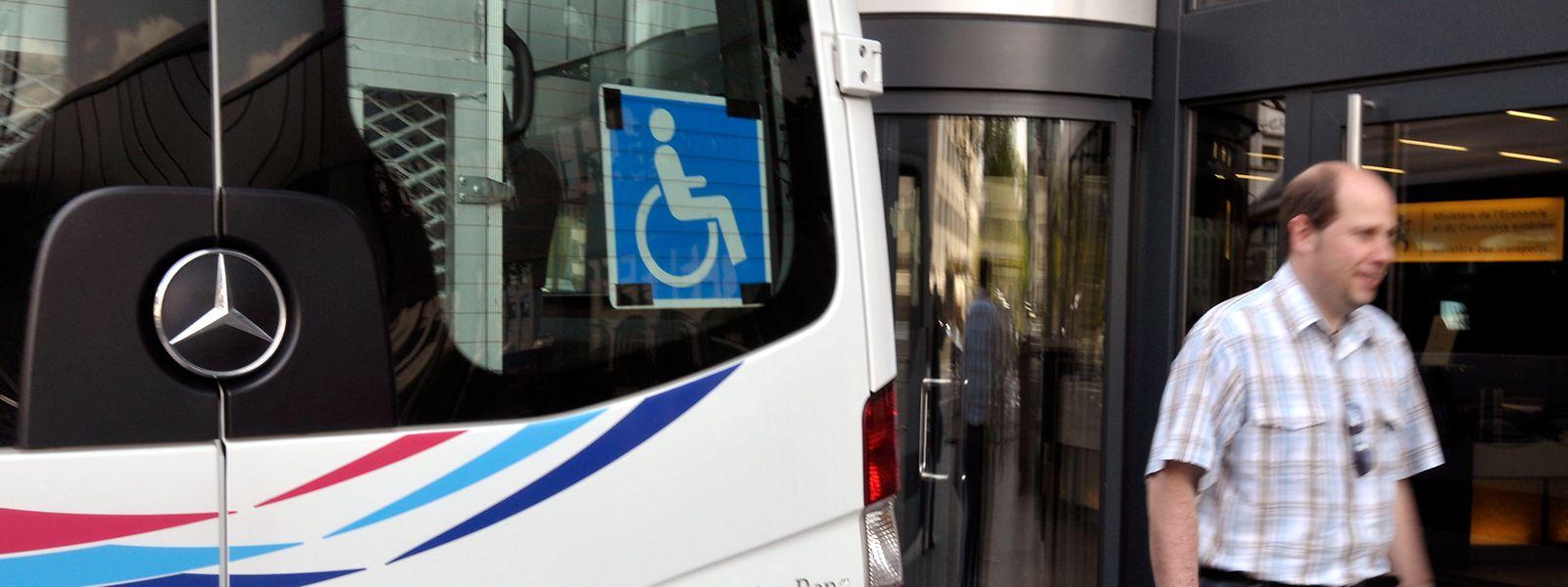 Der Adapto kann, so François Bausch, nicht mit dem klassischen öffentlichen Transport gleichgestellt werden.