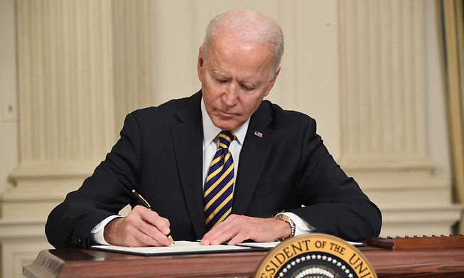 Joe Biden ordered the strikes after US facilities in Iraq in recent weeks, according to the Pentagon