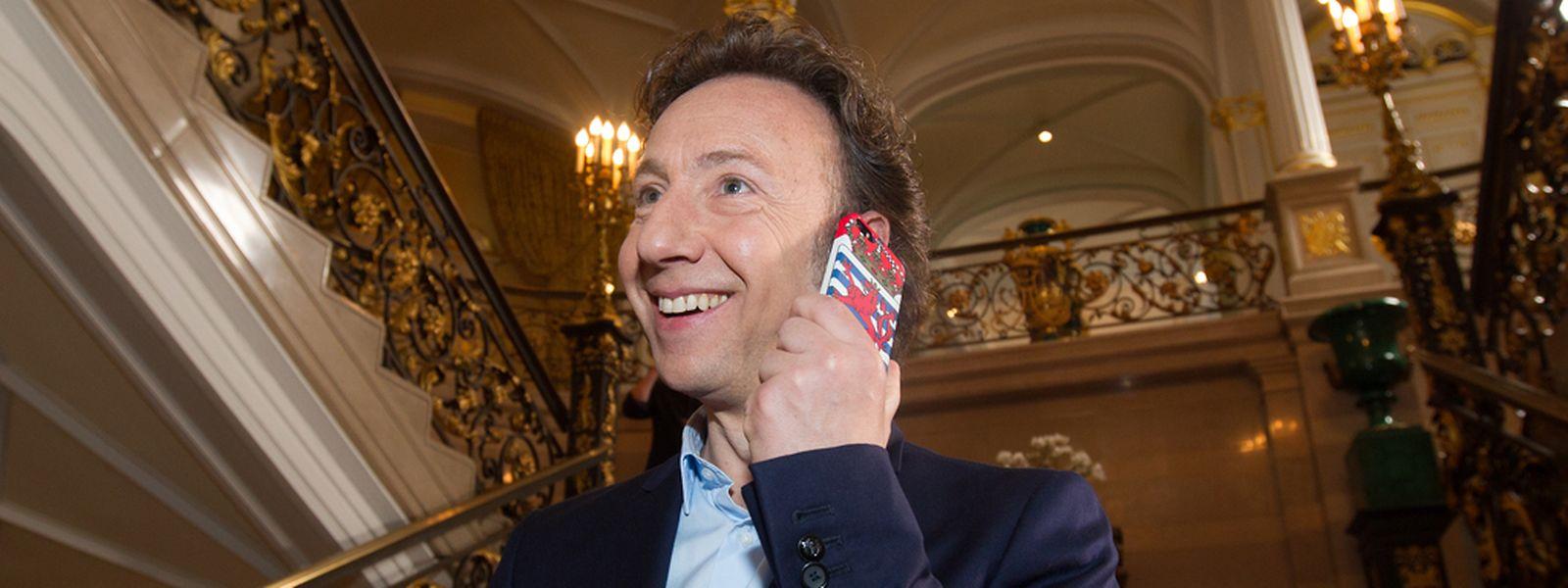 """Der französische Adelsexperte mit Luxemburger Wurzeln Stéphane Bern wird Großherzog Jean an diesem Mittwoch das Buch """"Jean de Luxembourg"""" überreichen."""
