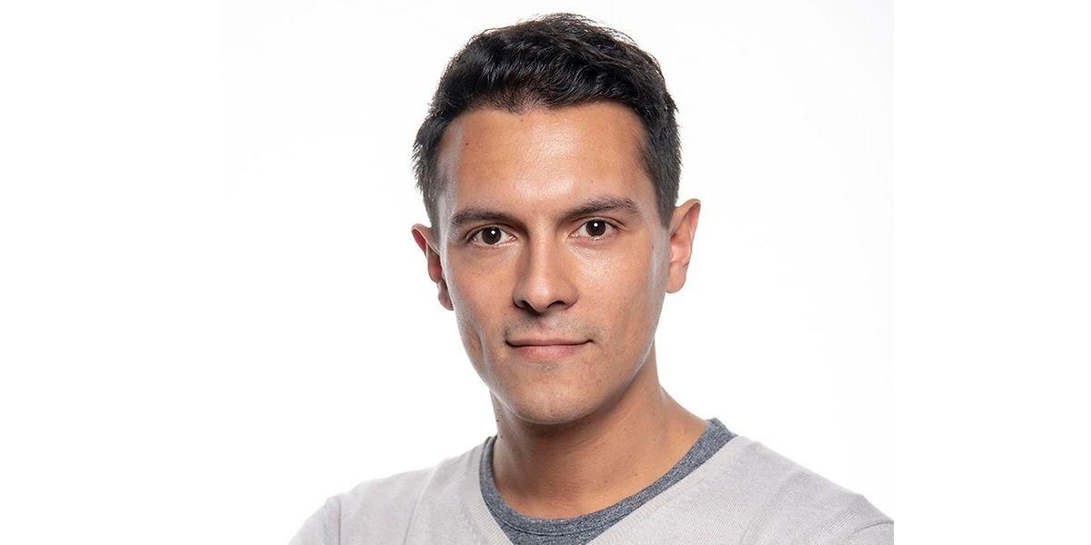Pedro Rupio, representante eleito pela Bélgica no Conselho das Comunidades Portuguesas.