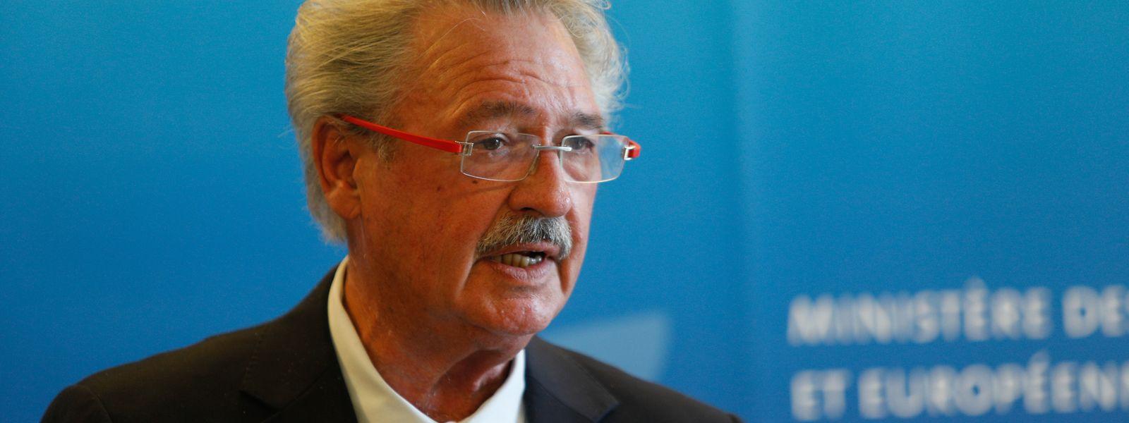 Außen- und Immigrationsminister Jean Asselborn legte am Montag die Zahlen zur Asyl- und Immigrationspolitik vor.