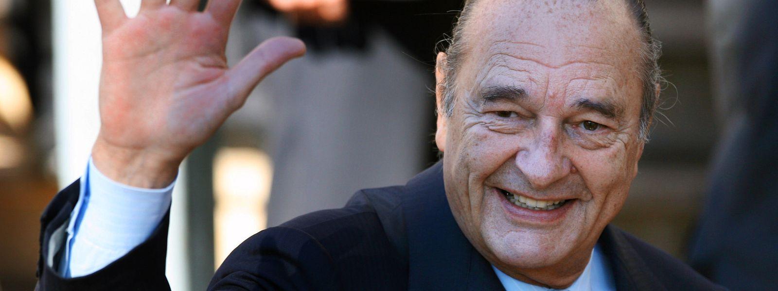 Chirac im Februar 2007, wenige Monate vor seinem Rückzug aus dem Präsidentenamt.