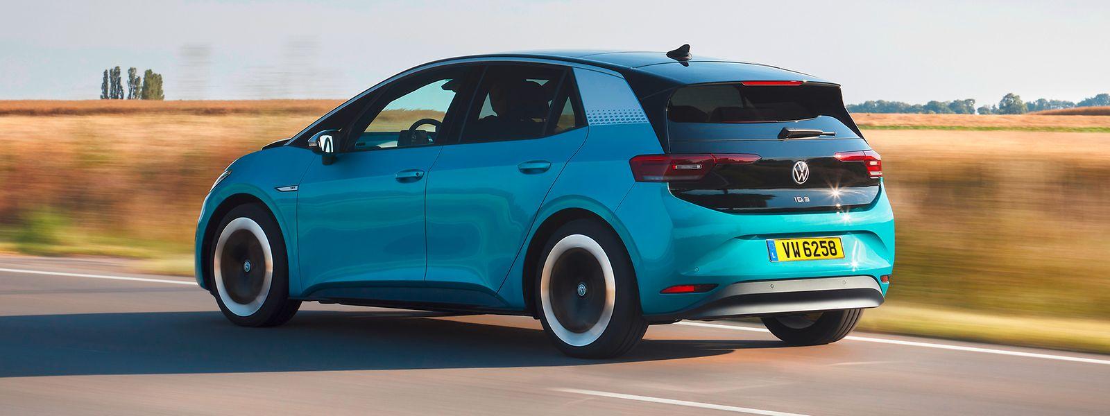 Der VW ID.3 wirkt modern, aber nicht überzeichnet.