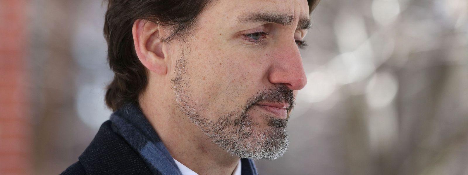Der kanadische Regierungschef Justin Trudeau beobachtet die Vorgänge in den USA mit großer Sorge.
