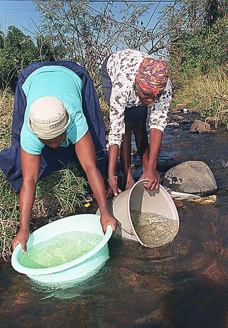 So sieht der Alltag im ländlichen Südafrika oft aus.