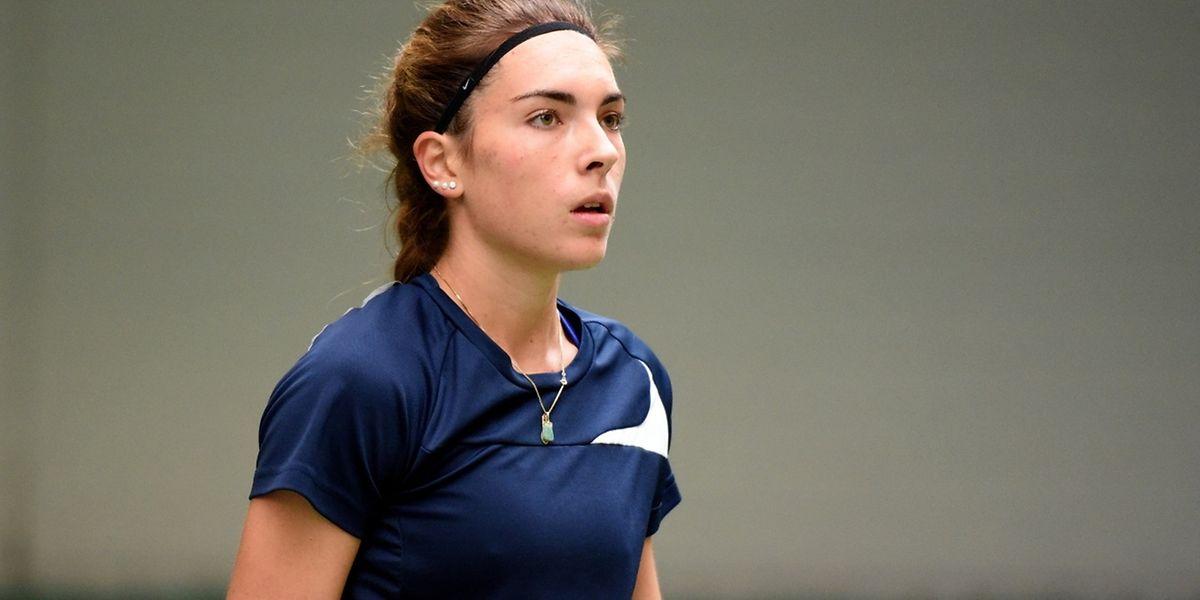 Eléonora Molinaro  a bien géré son entrée en matière dans le tournoi turc.