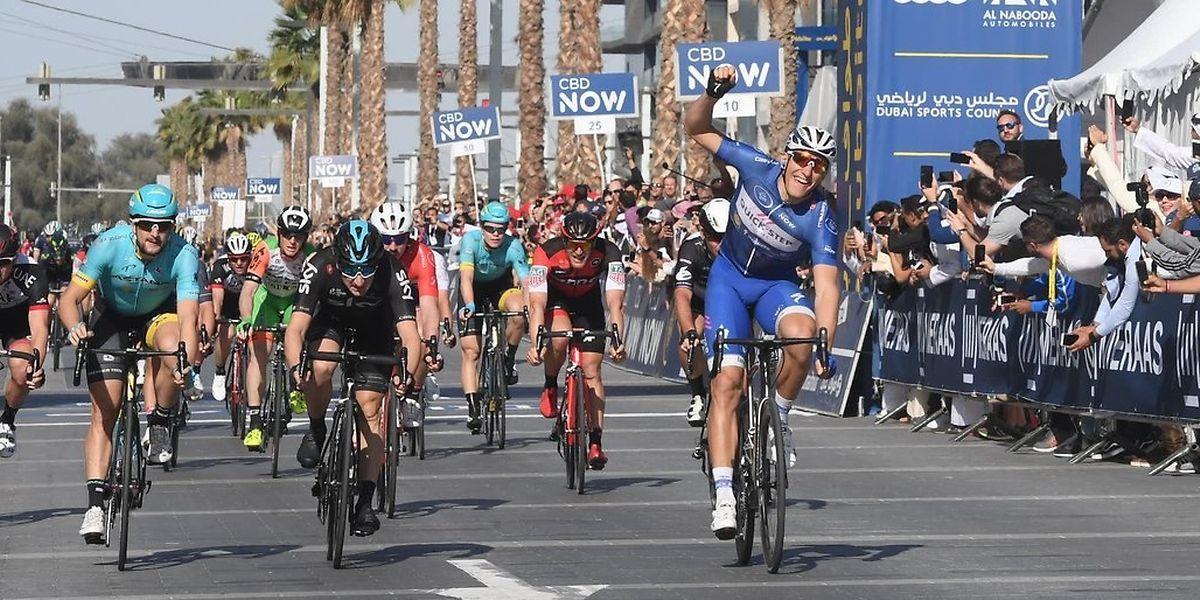 Et de trois pour Marcel Kittel. L'Allemand de la Quick-Step a signé son 3e succès à Dubaï et décroché le classement final.