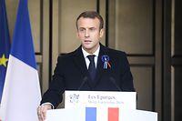 Sechs Personen sollen ein Attentat auf Emmanuel Macron geplant haben.