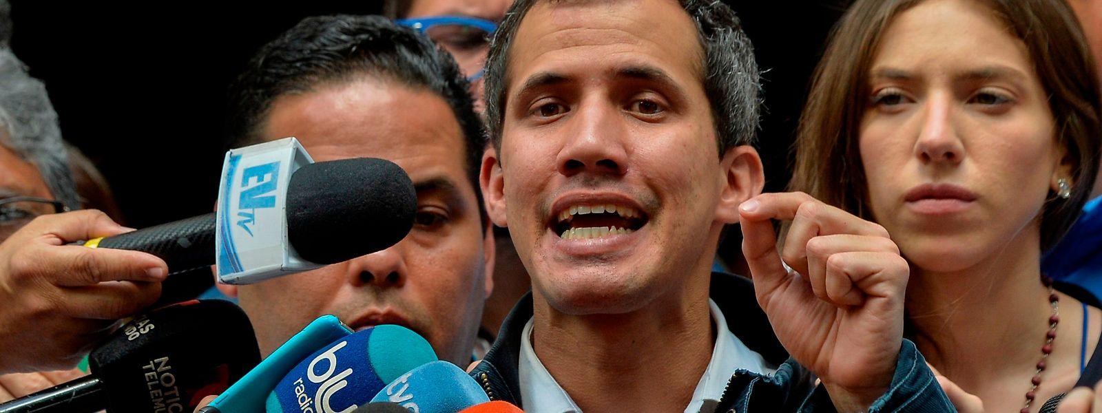 Juan Guaido.
